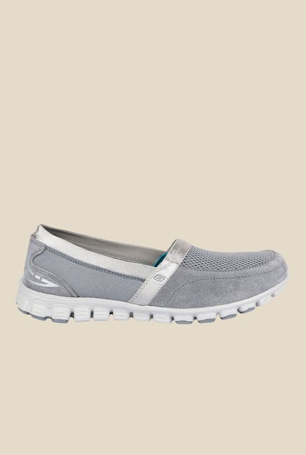 Buy Skechers Ez Flex Glitzy Glamour Grey Running Shoes for