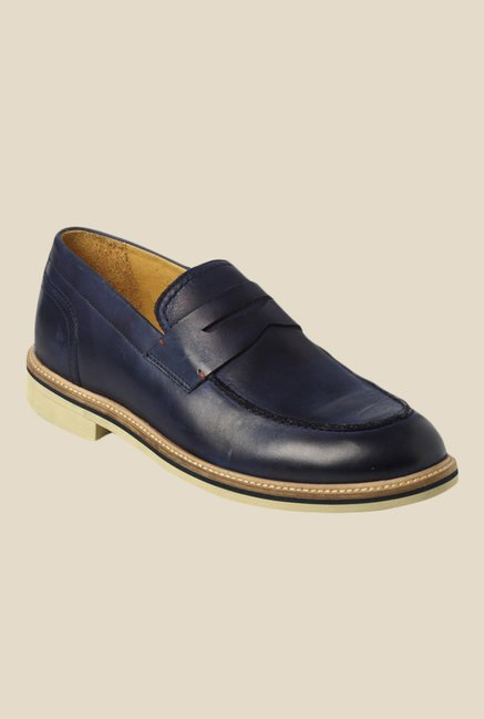 Toni Rossi Altro Navy Loafers