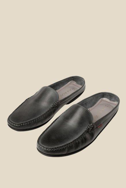 Toni Rossi Esterno Dark Grey Loafers