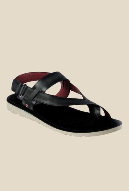Toni Rossi Aron Black Back Strap Sandals