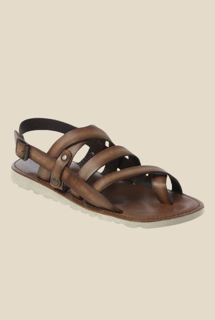 Toni Rossi Fernand Brown Back Strap Sandals