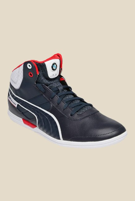 91cc2f5a561 Buy Puma BMW MS MCH Mid Team Blue Sneakers for Men at Best Price   TataCLiQ