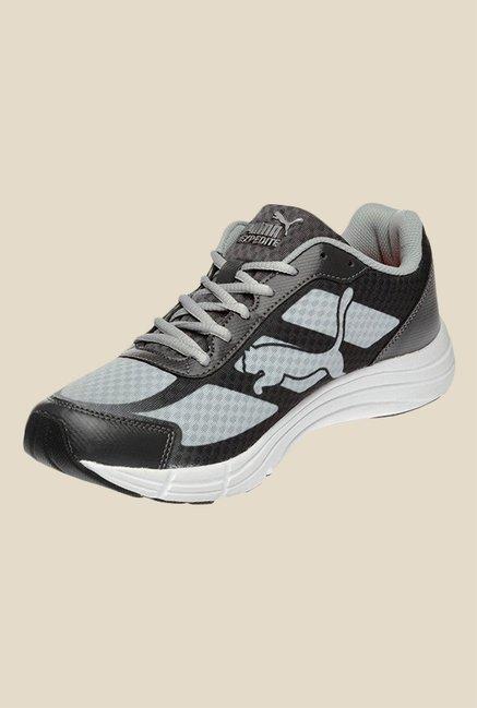09161a09f30d9b Buy Puma Expedite DP Black   Grey Running Shoes for Men at Best Price    TataCLiQ