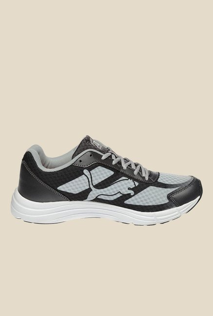 6614c03145aec1 Buy Puma Expedite DP Black   Grey Running Shoes for Men at Best ...