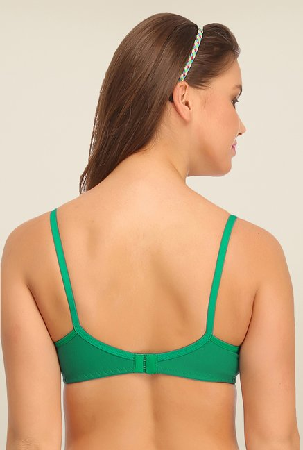 Clovia Green Non Padded T Shirt Bra