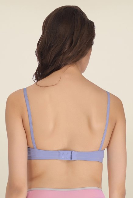 Clovia Blue Padded T Shirt Bra