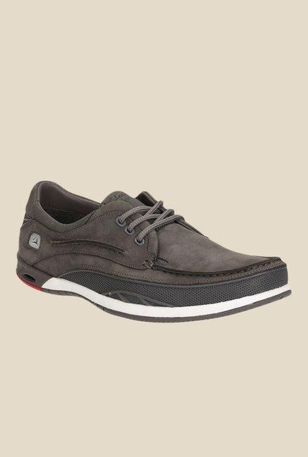 Clarks Orson Dark Grey Casual Shoes