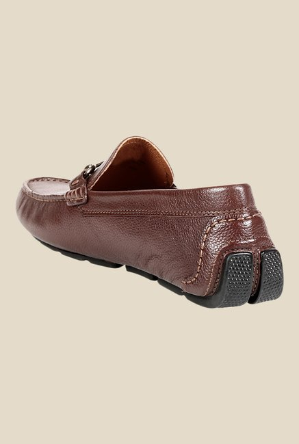 Clarks Davont Ride Brown Loafers