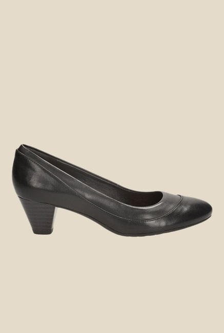 Pumps PriceTata Cliq For Buy At Clarks Denny Harbour Women Best Black cq35ARjL4