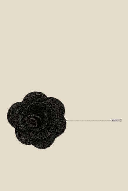 Buy the bro code black poppy flower lapel pin for men at best price the bro code black poppy flower lapel pin mightylinksfo
