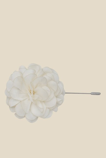 Buy the bro code white silk flower lapel pin for men at best price the bro code white silk flower lapel pin mightylinksfo