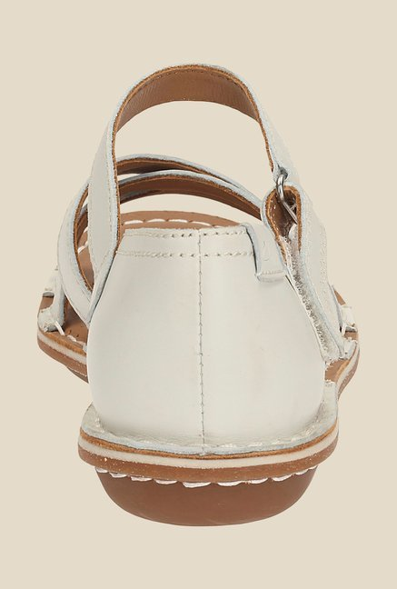 6668244158a6 Buy Clarks Tustin Sahara Off-White Ankle Strap Sandals for Women at ...