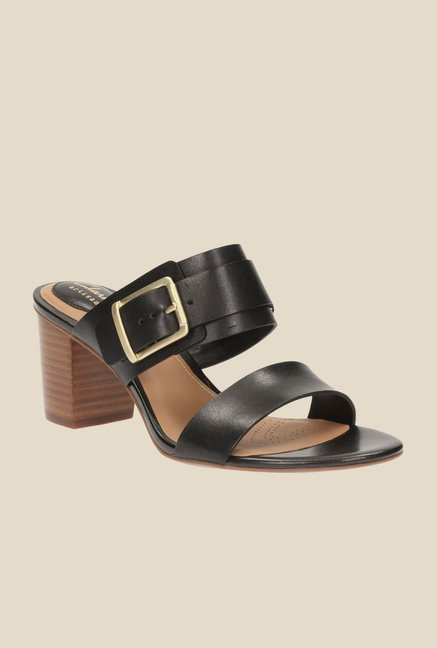 138bef7c719aac Buy Clarks Ralene Rose Black Casual Sandals for Women at Best Price   Tata  CLiQ