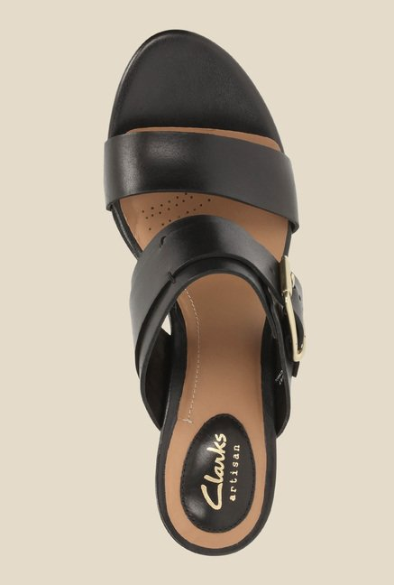 070984049 Buy Clarks Ralene Rose Black Casual Sandals for Women at Best Price ...