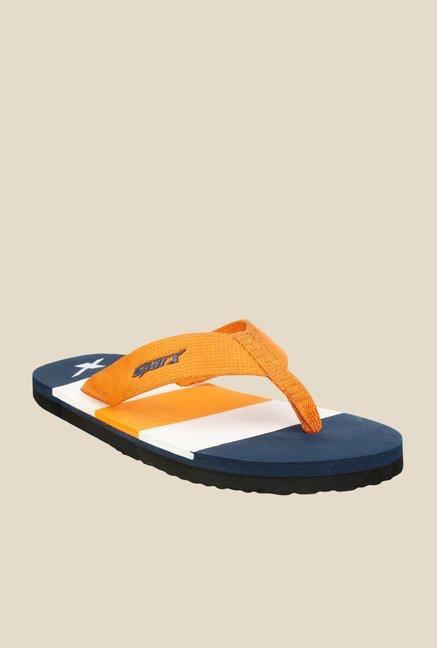 c159bf76b269 Buy Sparx Orange Flip Flops for Men at Best Price   Tata CLiQ