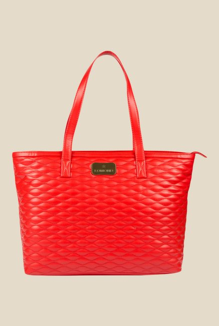 Lomond LM186 Red Textured Shoulder Bag