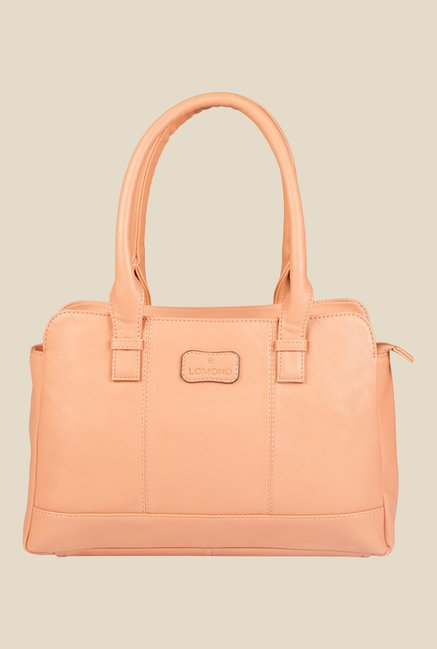 Lomond LM102 Peach Solid Handbag