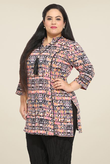 Talinum Multicolor Printed Tunic