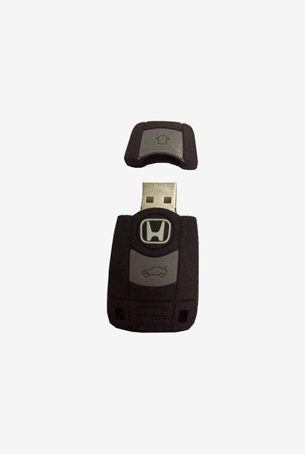 Microware Car Key6 16 GB Pen Drive (Black)