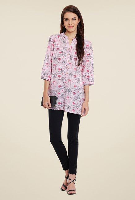 Meee Pink Printed Tunic