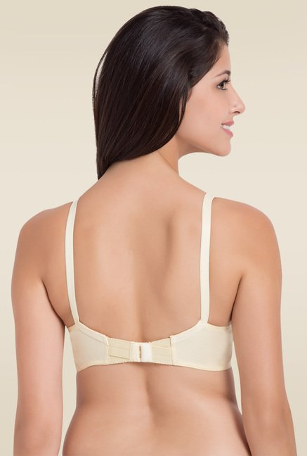 Souminie Off-white Non Stretchable Bra