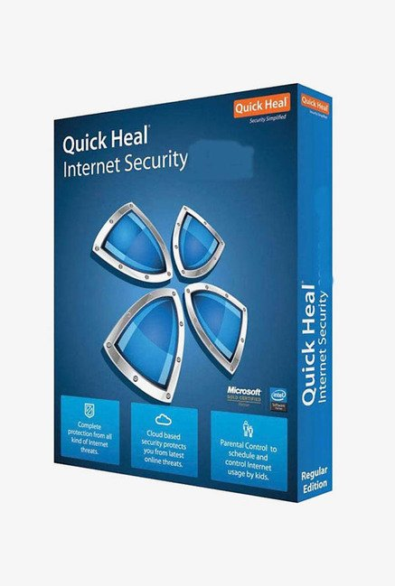 Quick Heal Internet Security (5 Users) 1 Year