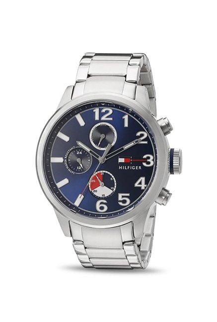 Tommy Hilfiger TH1791242J Jackson Blue Dial Analog Men's Watch (TH1791242J)
