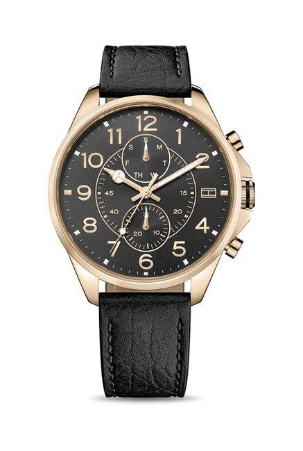 Tommy Hilfiger TH1791273J Black Dial Analog Men's Watch (TH1791273J)