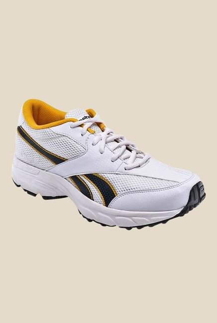 06865e31f Buy Reebok Rapid Runner LP White & Yellow Running Shoes for Men at Best  Price @ Tata CLiQ