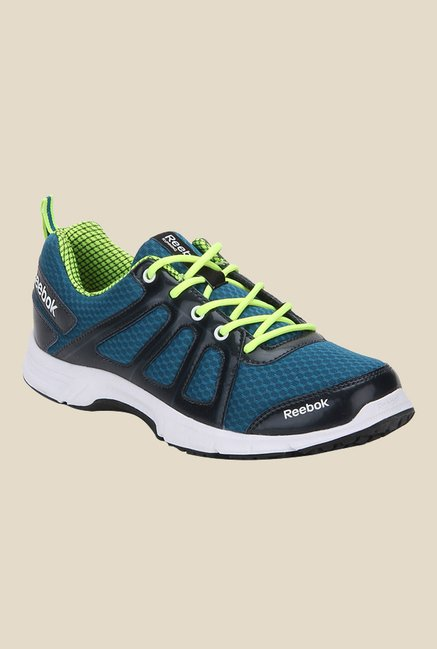 Bienes He aprendido Arrastrarse  Buy Reebok Teal Blue & Navy Running Shoes for Men at Best Price @ Tata CLiQ