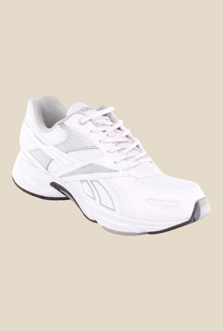 315bc28001044 Buy Reebok Acciomax IV LP White   Silver Running Shoes for Men at ...