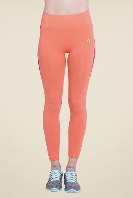 C9 Seamless Peach Solid Trackpants