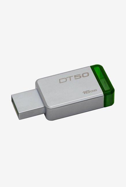 Kingston DataTraveler 50 16GB Pen Drive (Green)