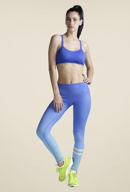 Heart 2 Blue Ombre Leggings