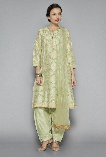 0ff63141c3 Buy Vark by Westside Green Printed Suit Set on TataCliq | PaisaWapas.com