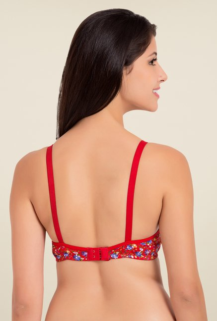 Souminie Red Non Padded Bra