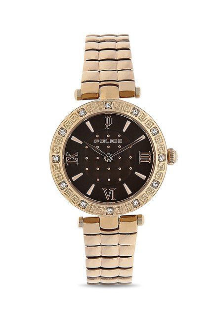 Police PL14623LSR12MJ Style Analog Watch for Women