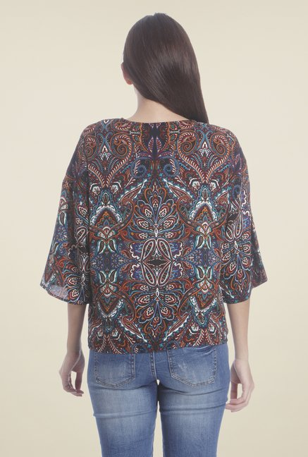 Only Multicolor Printed Shrug