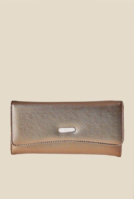 Lavie Bran Golden Solid Wallet