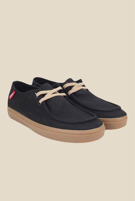 a30aa6cd6e4 Buy Vans Rata Vulc SF Black   Beige Casual Shoes for Men at Best ...