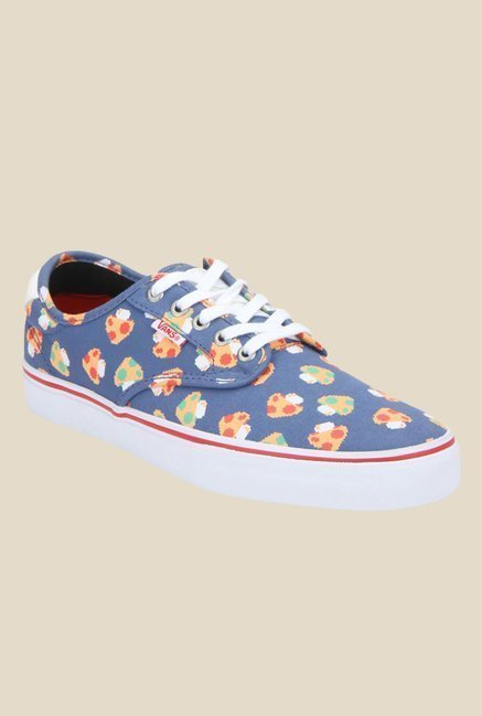318034f987f Buy Vans Chima Ferguson Pro Mushroom Blue   White Sneakers for Men at Best  Price   Tata CLiQ