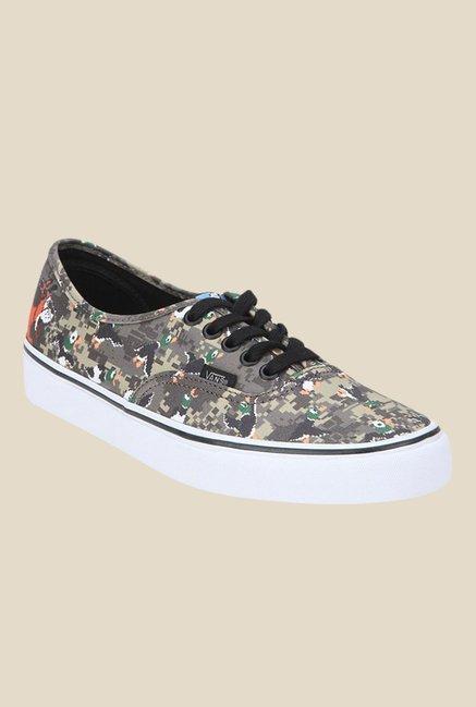 Buy Vans Nintendo Duck Hunt Grey Sneakers for Men at Best Price   Tata CLiQ a3009f228
