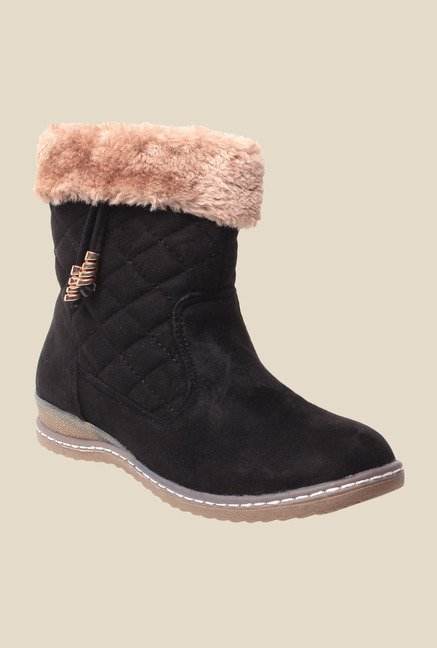 MSC Black Snow Boots