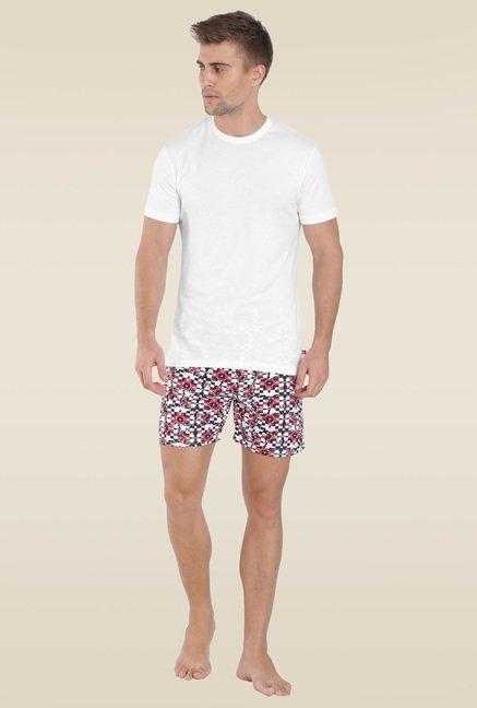 279d161a1fa7 Buy Jockey White Round Neck Inner T-Shirt - US34 for Men Online ...