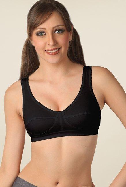 3f89d76034f Buy Floret Black Non Padded Bra for Women Online   Tata CLiQ