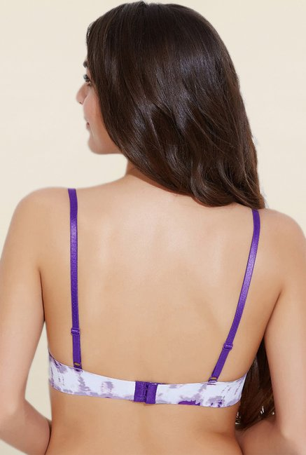Zivame Purple Padded Bra