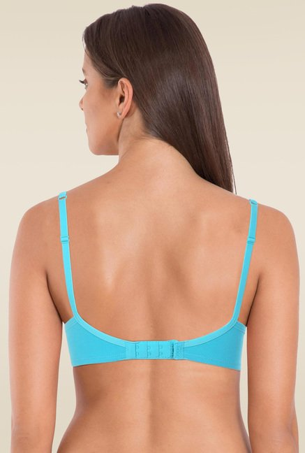 Jockey Teal Non-Wired Padded Bra - 1723