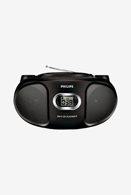 Philips AZ302 MP3 CD SoundMachine (Black)