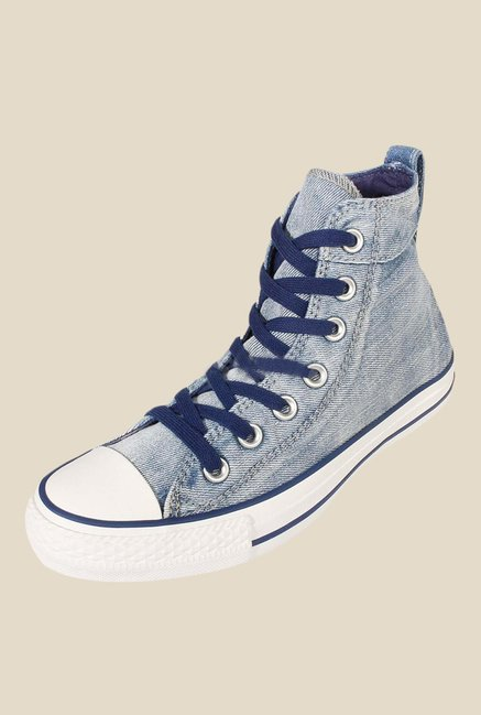Buy Converse Chuck Taylor All Star Collar Break Blue Sneakers for Men at  Best Price   Tata CLiQ 48cb802d8