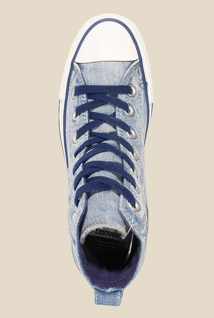 Buy Converse Chuck Taylor All Star Collar Break Blue Sneakers for ... 5edeb2291